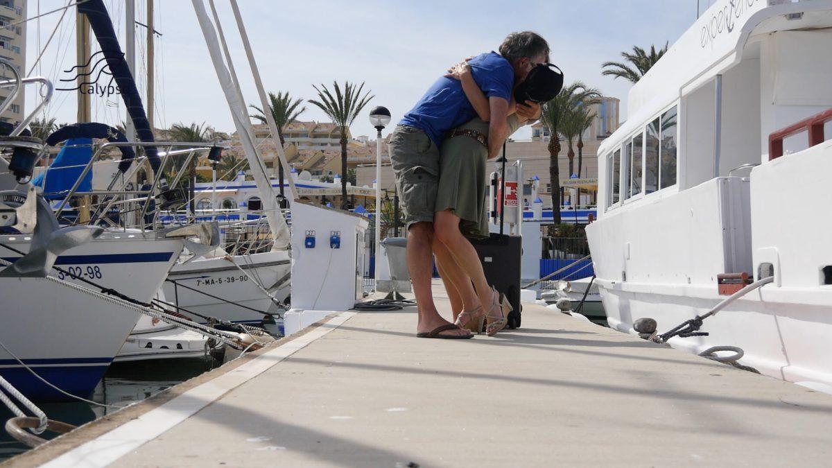 Calypso – Dag #28 – Gibraltar – Estepona- hereniging met Yvonne!