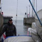 Laatste sluis op weg naar Middenlandse Zee
