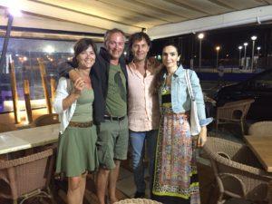 Neef Jeroen woont vlakbij Estepona met zijn spaanse schone Cristina - ontmoeting