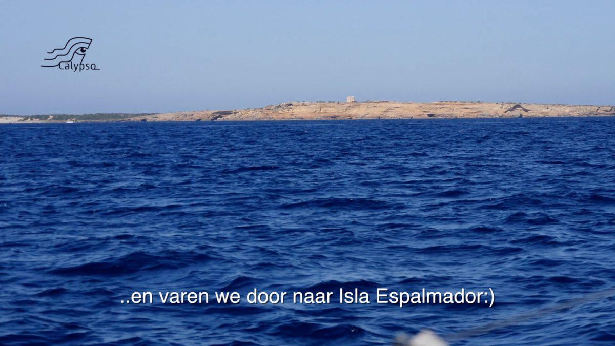 Calypso eindelijk bij de eilanden
