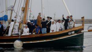 San Pietro in processie