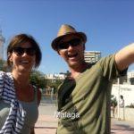 Yvonne en Pieter in Malaga
