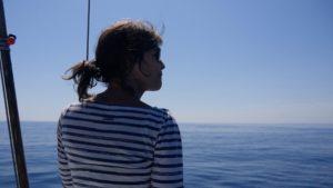 Yvonne ziet haar eerste dolfijnen