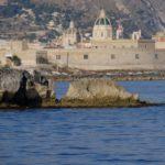 Trapani in zicht (Sicilie)