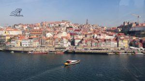 Porto aan de Douro vanaf Villa Nova de Gaia